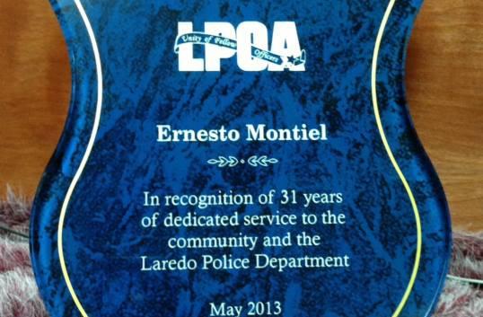 Acrylic Award for the LPOA