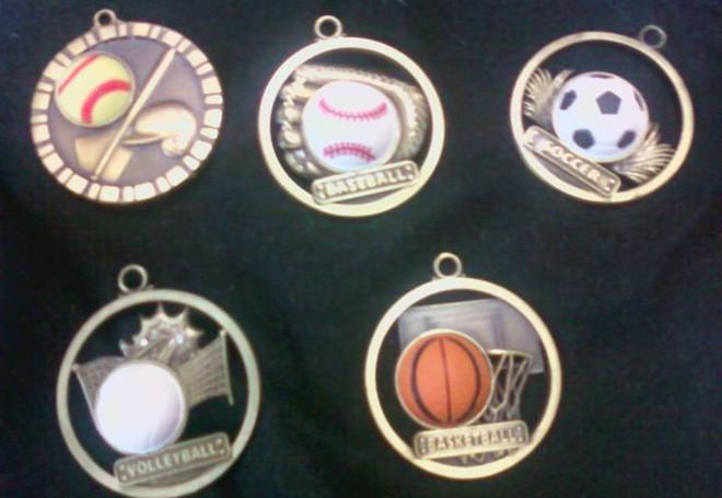 3D Sport Medals