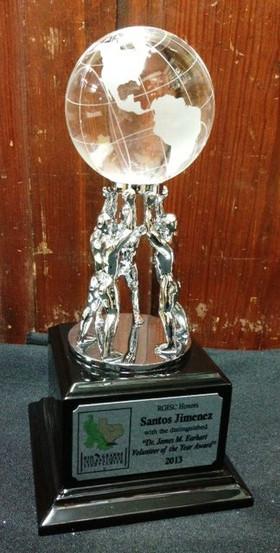 TEAMWORK Glass Globe Award
