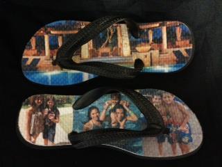 Sublimated Flip Flops