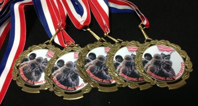 Custom Sublimated Medals