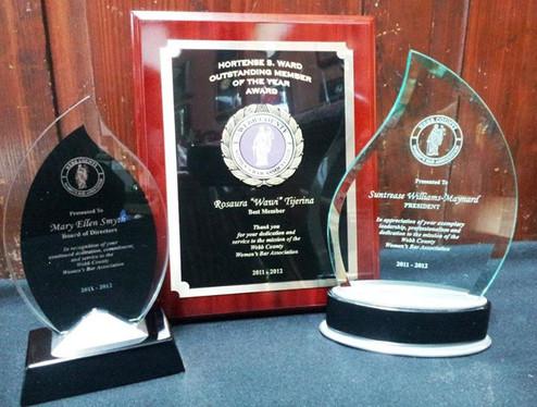 Custom Shape Glass Awards