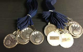 Basic Medal with engraved tag