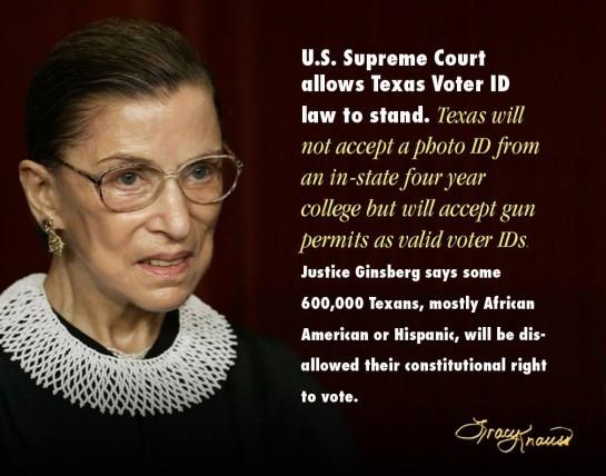 Texas Voter Supression
