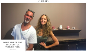 Zoe Buckman and I interview one another in a recent Cultured Magazine piece.