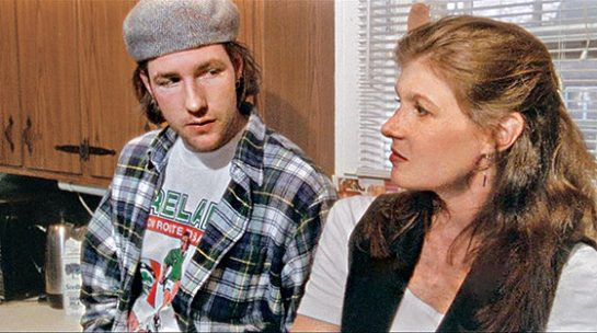 Britton w Ed Burns in The Brothers McMullen 1995