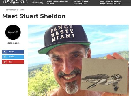 Meet Stuart Sheldon, Voyage MIA Magazine