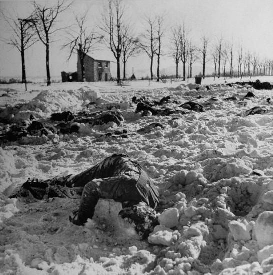 Battle of the Bulge. John Florea—Time & Life