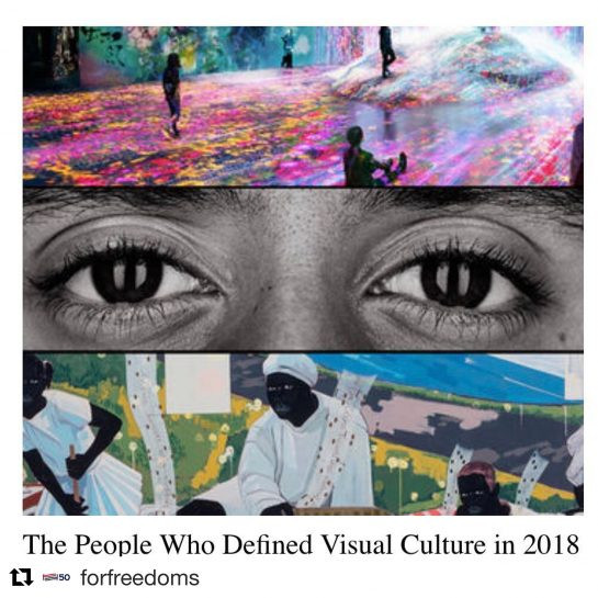 Artists Defining Visual Culture 2018
