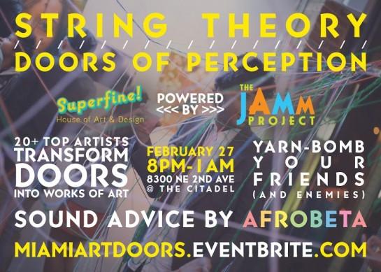 Doors of Perception Exhibition Feb 27, 2016
