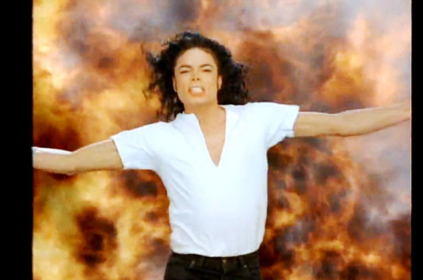 1991 Michael Jackson Black or White image courtesy of www.billboard.com