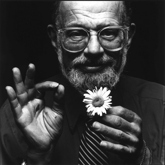 Allen Ginsberg photo from www.henrymiller.org