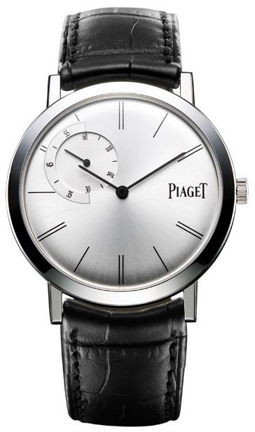 This Piaget watch costs $20,000. Al got his real Piagets for $100 a dozen