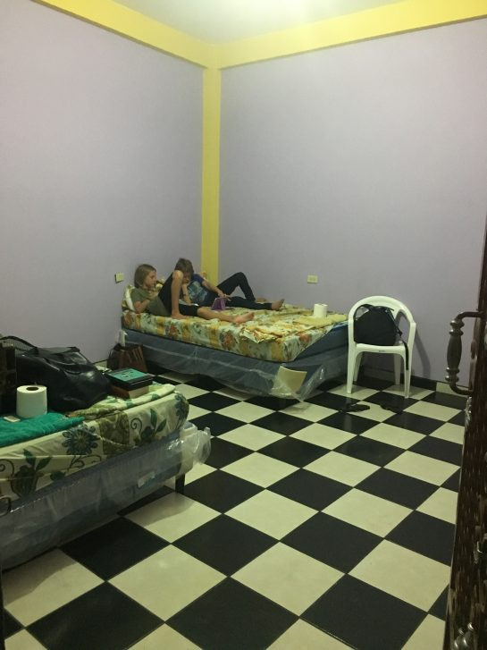 "El Salvador hotel room that ""resembled the corridor of 1970s psychiatric hospital"""