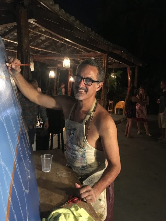 First Costa Rica commission and live painting gig 2019