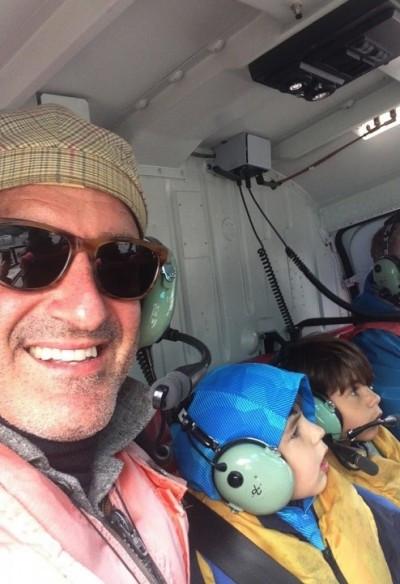 Alaska helicopter ride