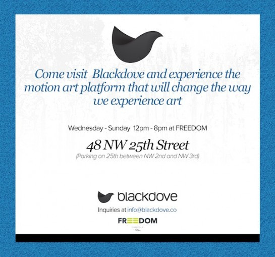 Blackdove Opening - Wed