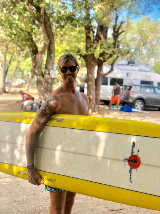 Aaron Surfboard