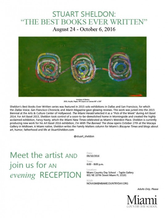 Miami Country Day Gallery Invite 2016