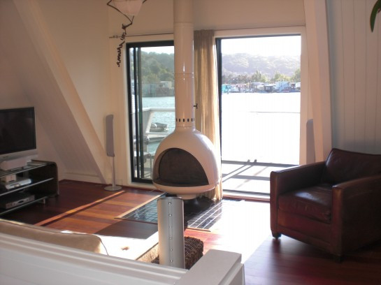Houseboat Living Room