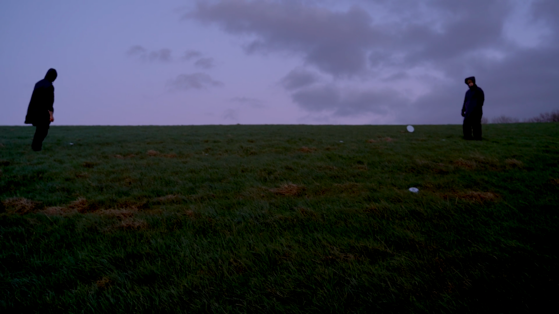 A light sometimes seen hovering over marshy ground