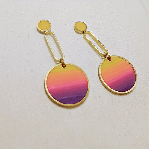 Sunset Gradient Earrings