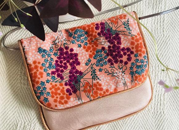 """Kit sac bandoulière """"Floraison"""""""