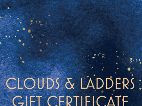 Clouds and Ladders Gift Card
