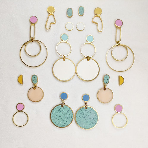 Ready to Ship and One of a Kind Earrings in Pastels