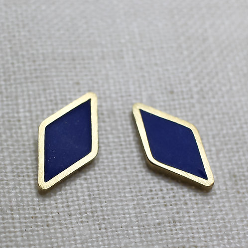 Diamond Shaped Studs in Your Choice of Colors