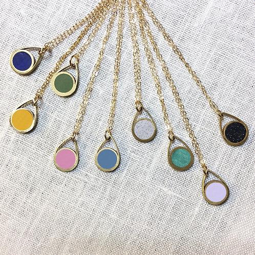 Circle Drop Necklace - Ready to Ship
