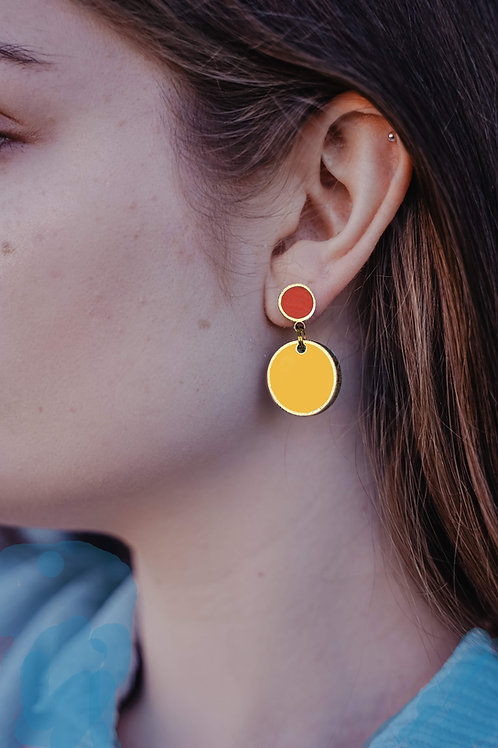 Baby Drops Earrings in Your Choice from 32 Color