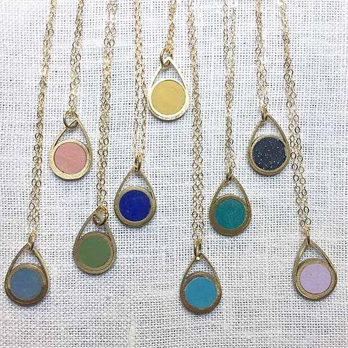 Circle Drop Necklace