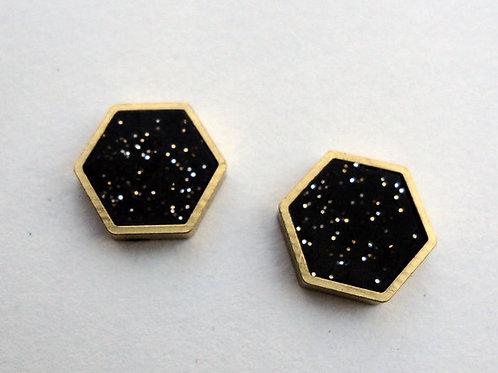 Hexagon Studs - Ready to Ship