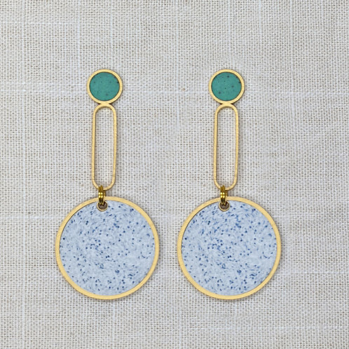 Kusama Dot Earrings in Your Choice of Colors