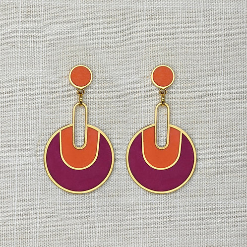 U Drips Earrings in Your Choice of Colors
