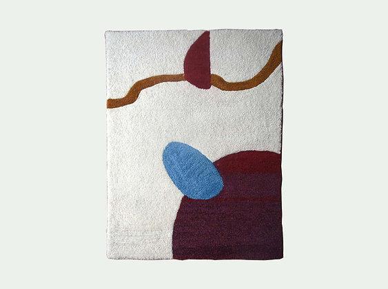 Jeanne - tapis   Weaving on the mountain