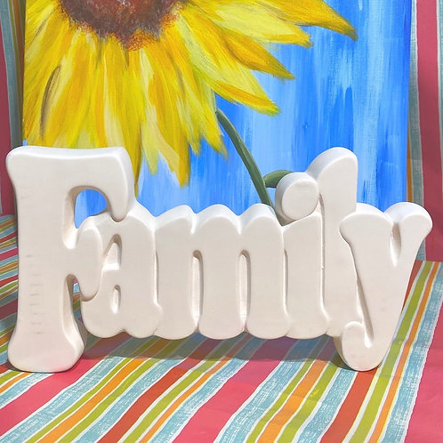 FAMILY Wall Plaque - Kennewick