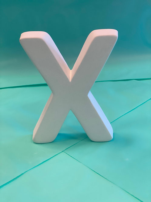 """""""X"""" letter - Pines Rd. Build Your Own Kit"""