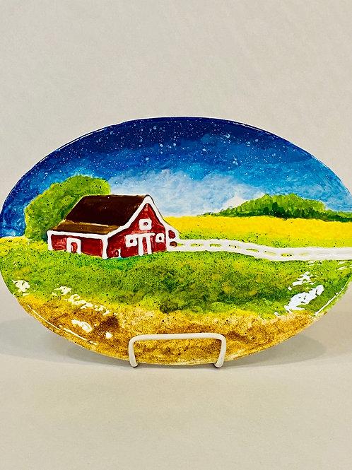 Oval plate - Kennewick