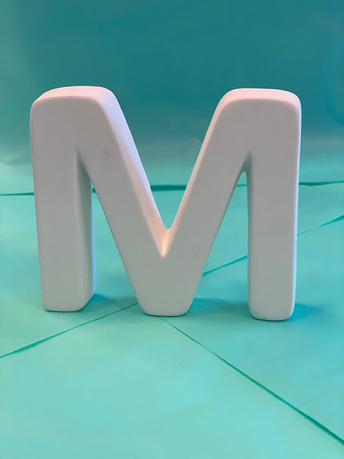 """M"" letter - Pines Rd. Build Your Own Kit"