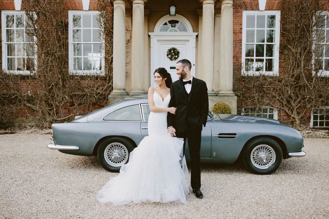 DB5 Wedding Car Iscoyd Park