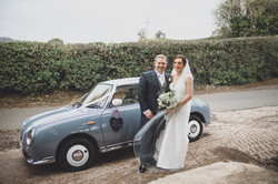 Nissan Figaro Wedding car