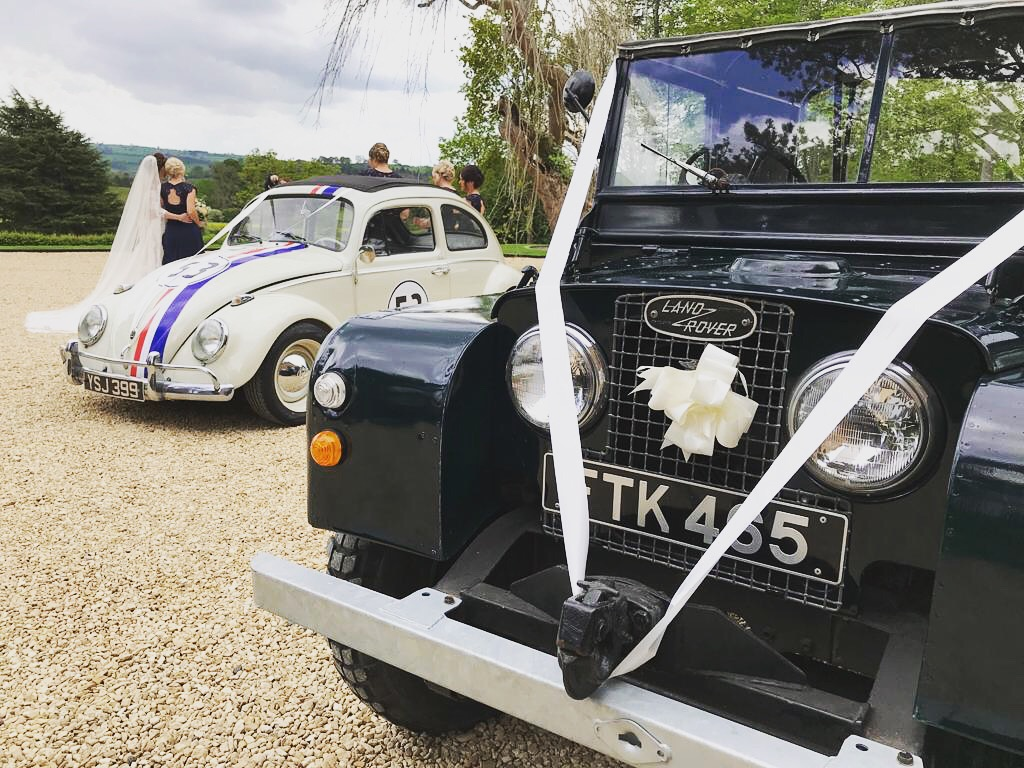 Land Rover Wedding