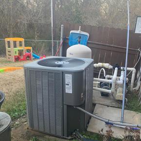 AC Condenser Install