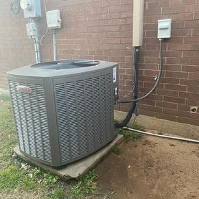 Heat Pump Condenser Install