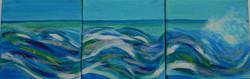 Triptych sea