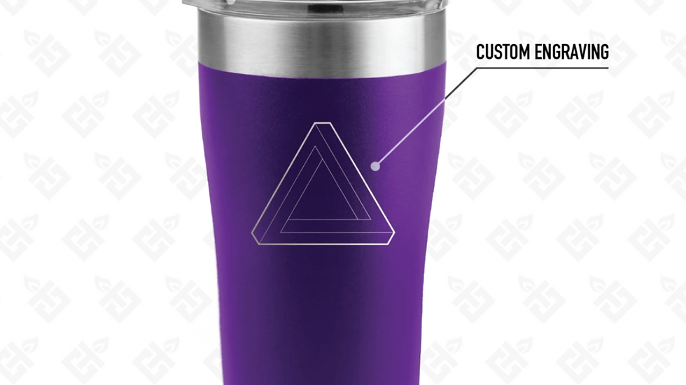 Custom Engraved 20OZ TUMBLER- Multiple Color Options Available