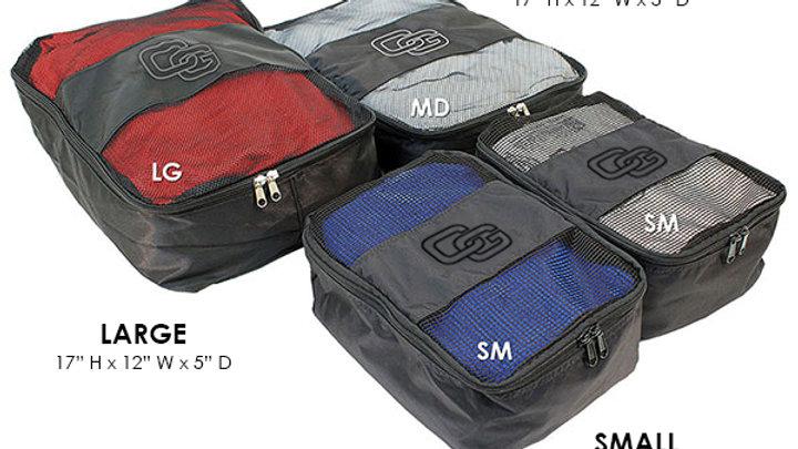 Club Glove Travel Clothing Organizer Large- Black