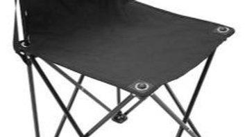 Portable Gallery Folding Chair- Black